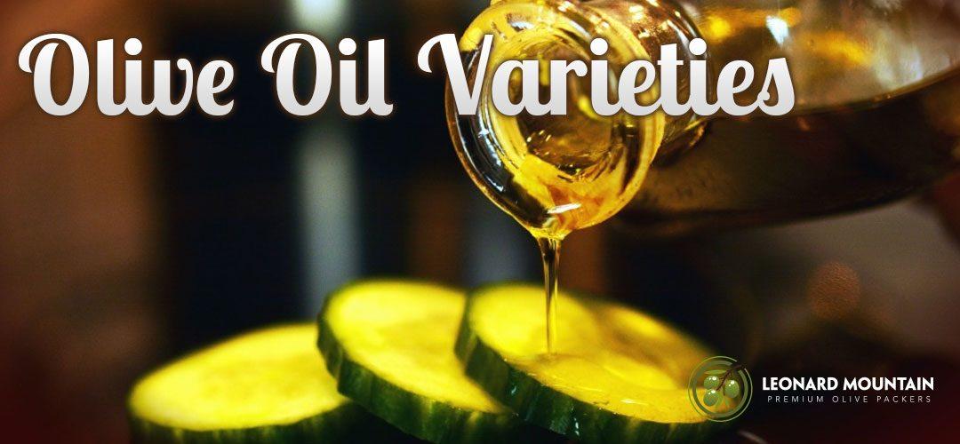 Olive Oil Varieties