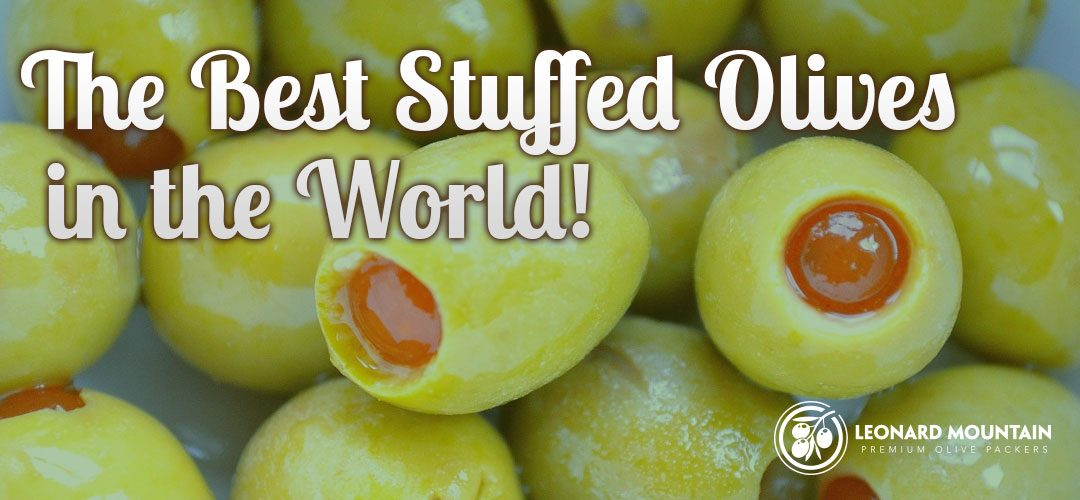 The Best Stuffed Olives in the World